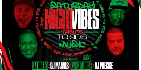 Saturday Night Vibes: A Tribute to 90's  Music @ NoMa Social tickets