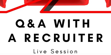 Live Q&A with a recruiter tickets