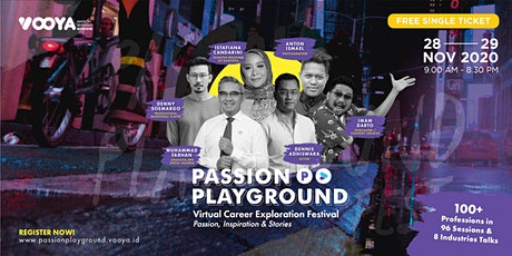 Passion Playground Online Festival (Free Single Ticket) tickets