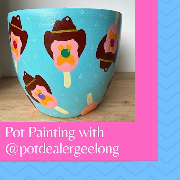 Pot Painting with Pot Dealer Geelong image