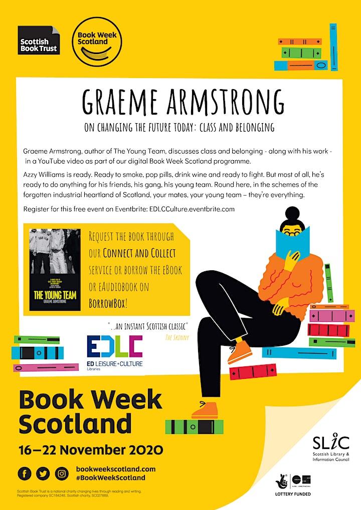 Book Week Scotland: Graeme Armstrong image