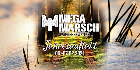 Megamarsch Spezial #WIRGEHENWEITER Jahresauftakt bilhetes