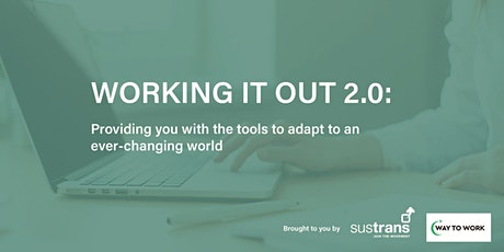 WORKING IT OUT 2.0 - webinar with guest speaker, Anna Bell tickets