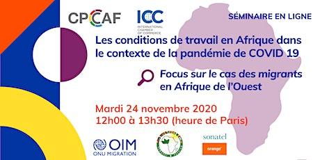 Covid-19 : Les conditions de travail au sein des entreprises africaines billets