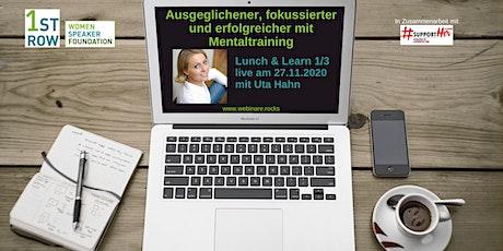 Mentaltraining - Webinar 1/3 Tickets