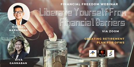 Liberate Yourself From Financial Barriers Via Zoom tickets
