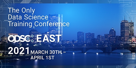 ODSC East 2021  Virtual Conference || Open Data Science Conference tickets
