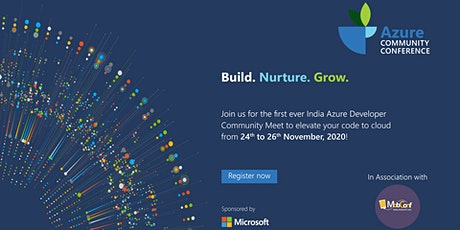 India Microsoft Azure Community Conference-2020 tickets