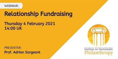 Webinar - Relationship Fundraising tickets