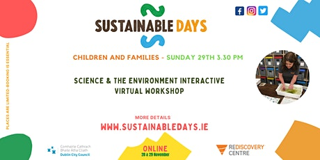 Science and the Environment Interactive Virtual Workshop tickets