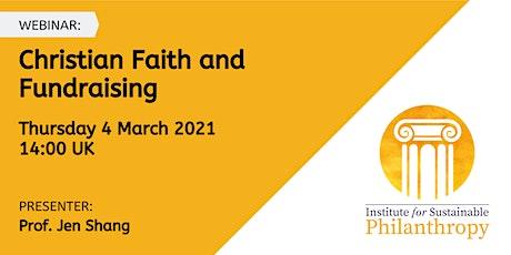 Webinar - Christian Faith and Fundraising tickets