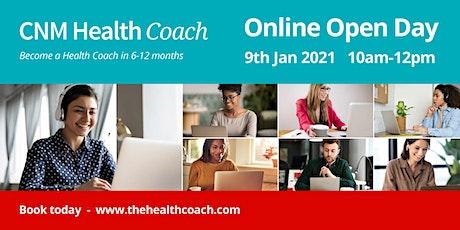 Health Coach Online Open Day tickets