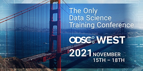 ODSC West 2021 - Open Data Science Conference tickets