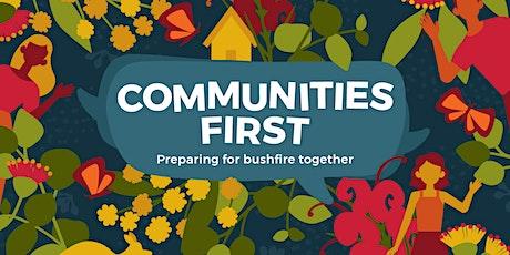 Communities First Webinar: Bushfire, Art and Mental Health tickets