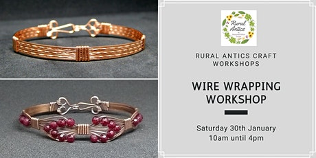 Wire Wrapping Jewellery Workshop tickets