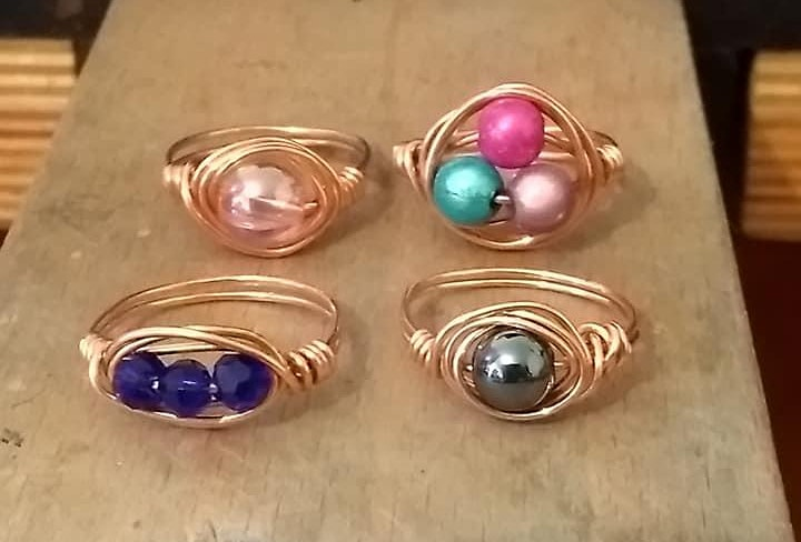 Wire Wrapping Jewellery Workshop image