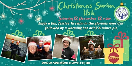 Christmas Swim Usk tickets