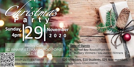 QMWS CHRISTMAS PARTY tickets