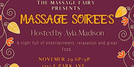 Fall Massage Soiree tickets