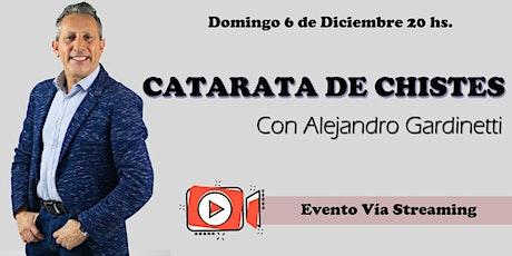 Cataratas de chistes con Alejandro Gardinetti biglietti