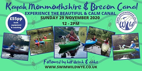 Kayak the Monmouthshire & Brecon Canal tickets