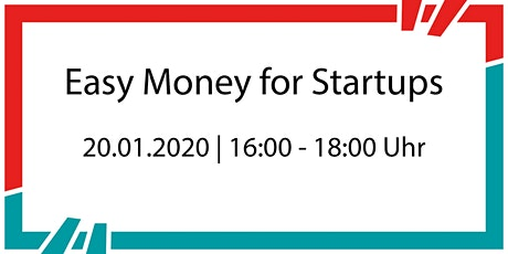 Easy Money for Startups tickets