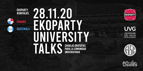 Ekoparty University Talks Panamá & Guatemala 2020 entradas
