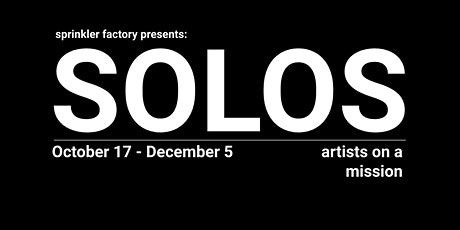SOLOS: artists on a mission tickets