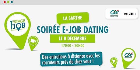 E-Job Dating Sarthe: décrochez un emploi dans votre région billets