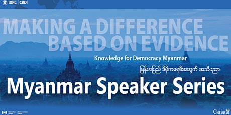 The road ahead on education reform: What comes next for Myanmar? tickets