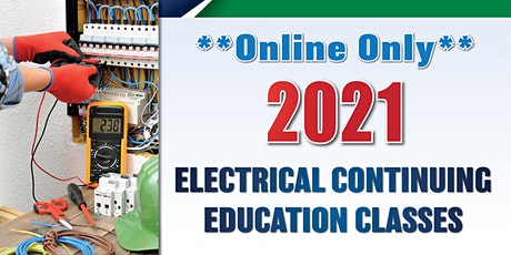 Online-only Electrical Continuing Education Class (Jan. 12) tickets