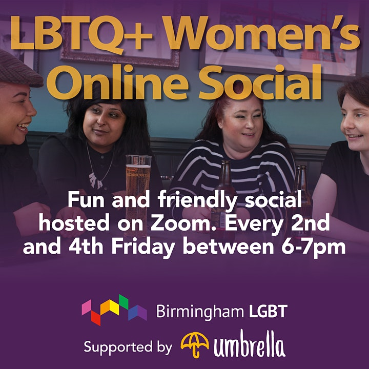 Online social for LBTQ+ Women image