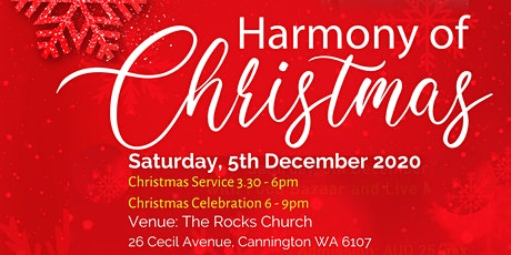 Harmony of Christmas tickets