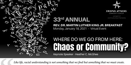 33rd Annual Rev. Dr. Martin Luther King, Jr. Breakfast tickets