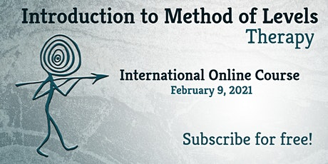 Method of Levels Therapy International Online Course February 2021 tickets