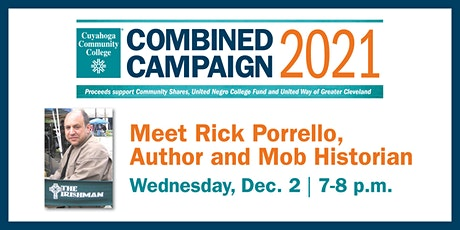Tri-C Combined Campaign Virtual Meet the Author, Rick Porrello, Event tickets