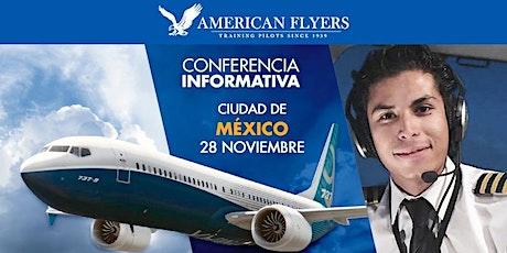 Conferencia Informativa de American Flyers en la CIUDAD de MÉXICO boletos