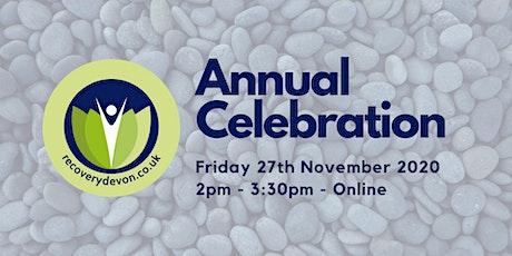 Recovery Devon Annual Celebration 2020 tickets