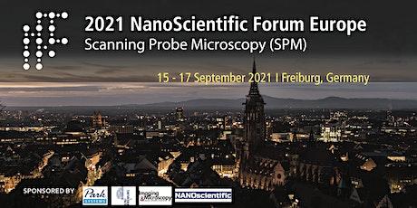 NanoScientific Forum Europe 2021 billets
