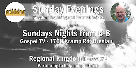 RKN Sunday Night Teaching and Prayer tickets