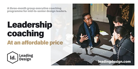 Group Executive Coaching for Experienced Design Leaders tickets