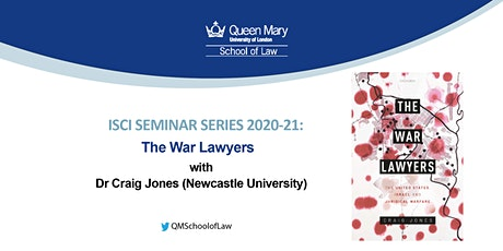 ISCI Seminar Series: The War Lawyers tickets