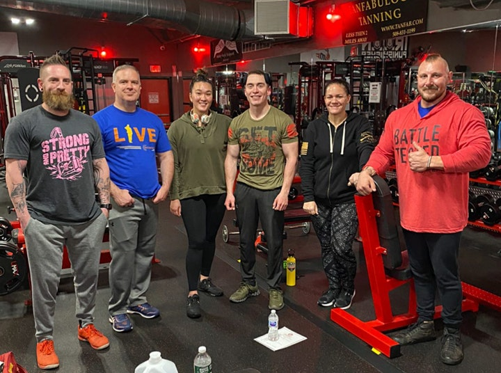 Military & Veteran Lifting Club image