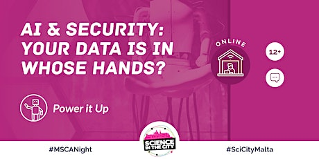 AI & Security: Your Data is in Whose Hands? - SITC 2020 PRE-FESTIVAL tickets
