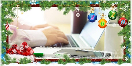 Zokit Online Christmas Party - Wed 16th December 8am-9.30am tickets