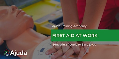 First Aid at Work Level 3 Training Course - December 2021 tickets