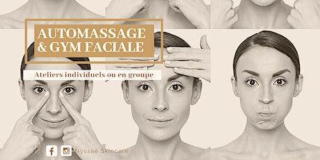 Nyssaé - Atelier individuel -  Gym Faciale et Automassages billets