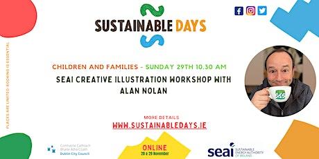 SEAI Creative Art Workshop with Alan Nolan tickets