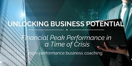 Financial Peak Performance in a time of crisis tickets