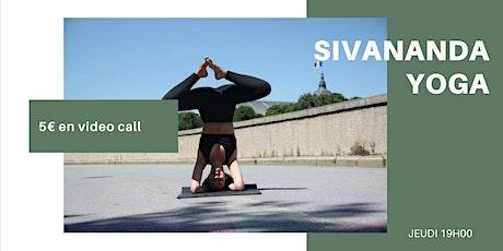 Cours de Yoga Bien Être | 5 €  | EN VISIO billets